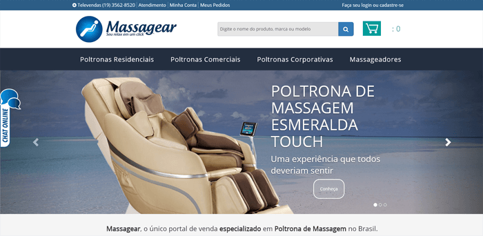 Massagear Cadeira de Massagem